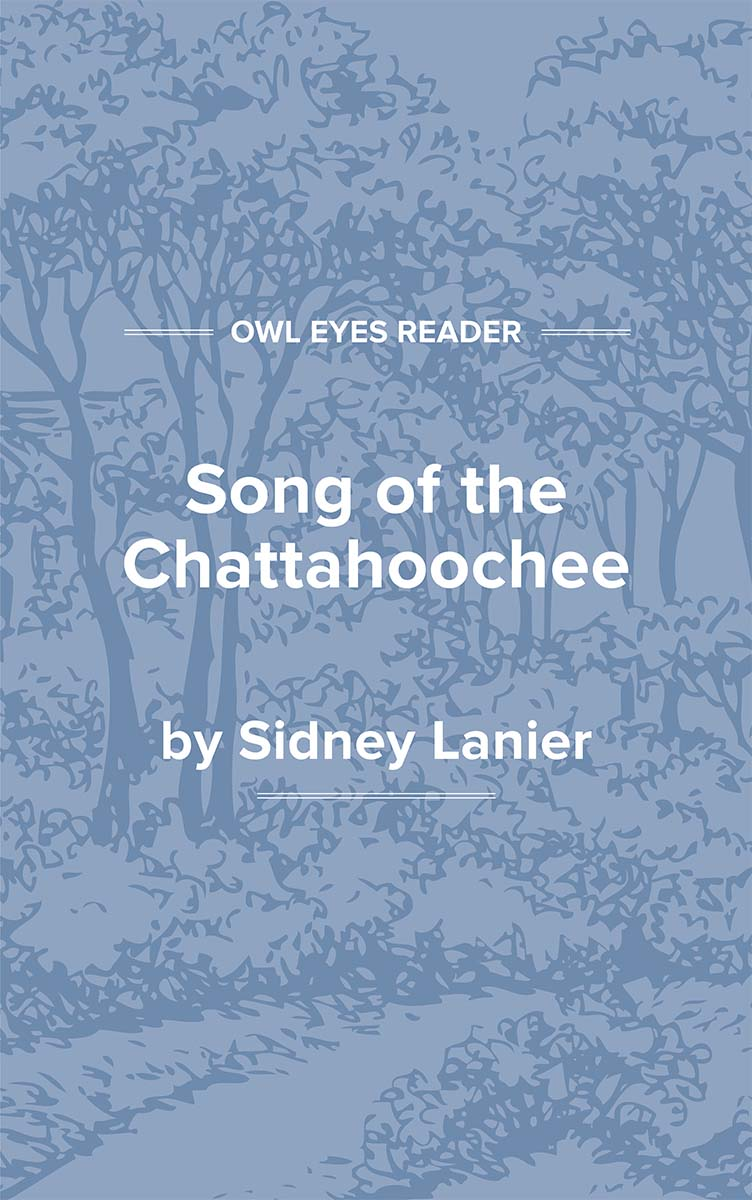 Song of the Chattahoochee Cover Image