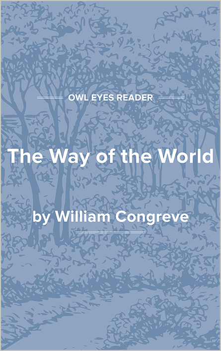 The Way of the World Cover Image