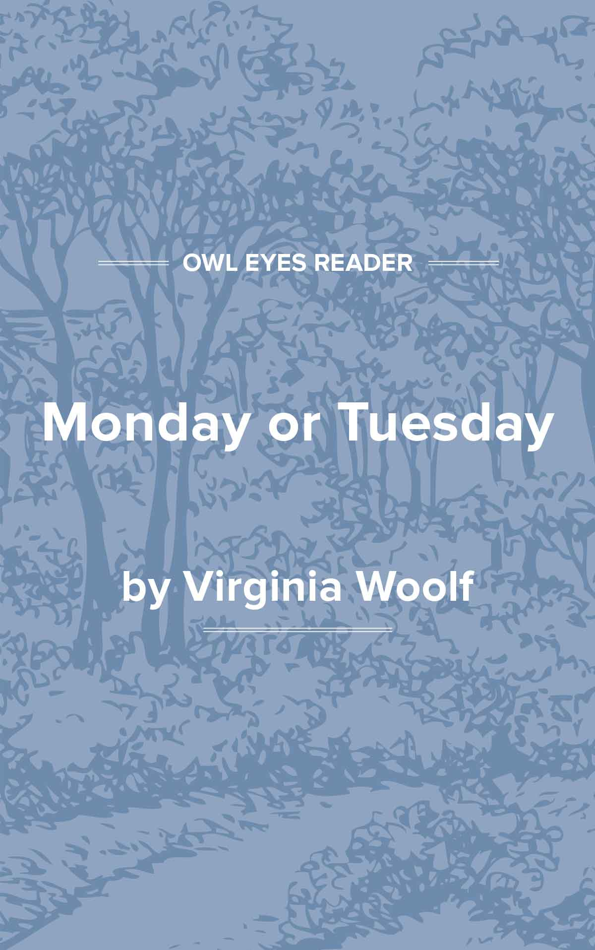 Monday or Tuesday Cover Image