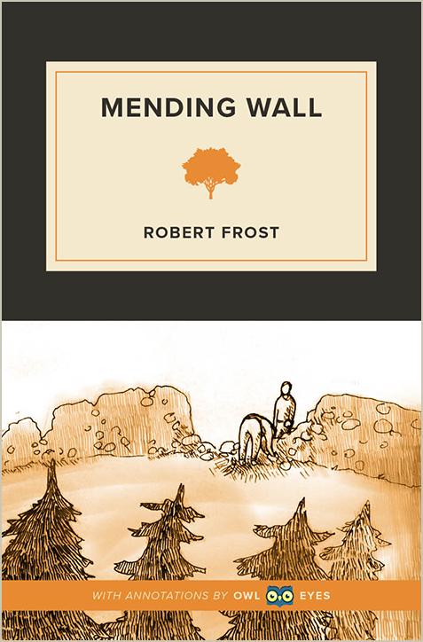 Imagery In Mending Wall Owl Eyes
