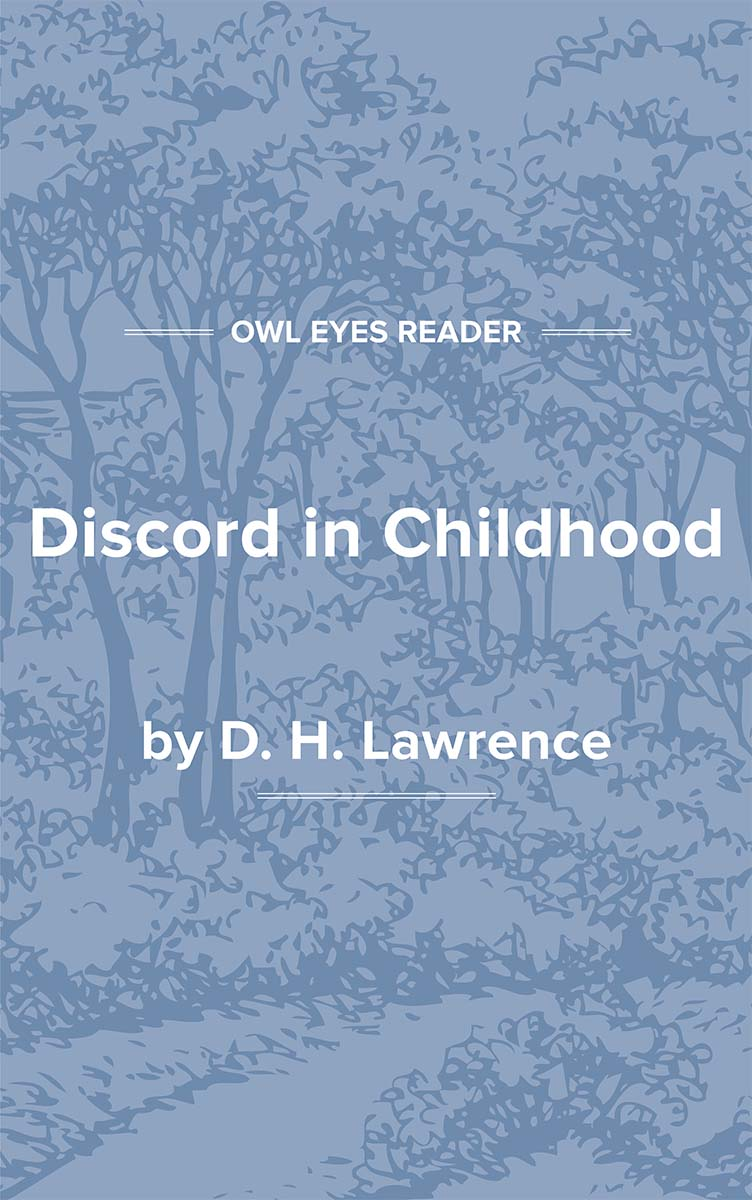 Discord in Childhood Cover Image
