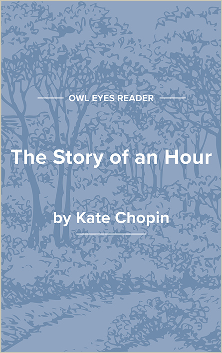 The Story of an Hour Cover Image