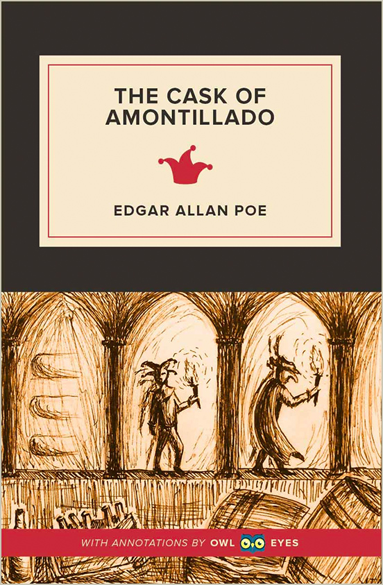 tone in the cask of amontillado owl eyes related analysis pages