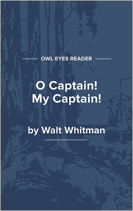 O Captain! My Captain! Cover Image