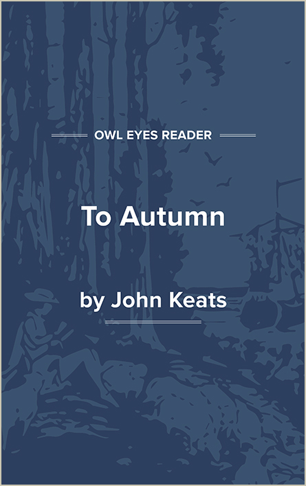 To Autumn Cover Image