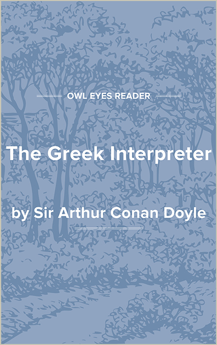 The Greek Interpreter Cover Image