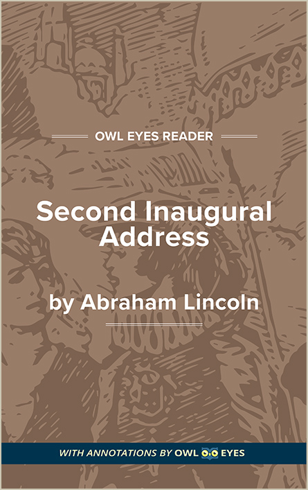 Second Inaugural Address Cover Image