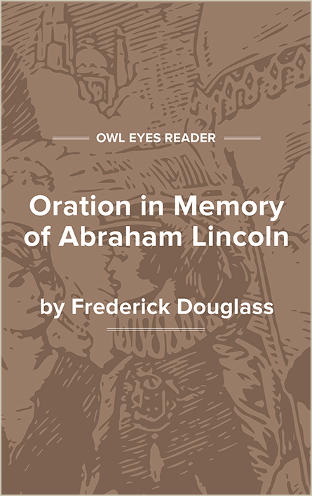 Oration in Memory of Abraham Lincoln Cover Image