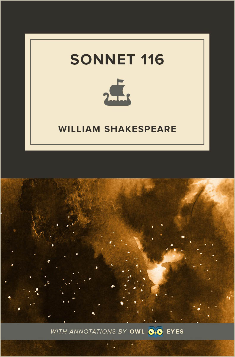 Sonnet 116 Cover Image