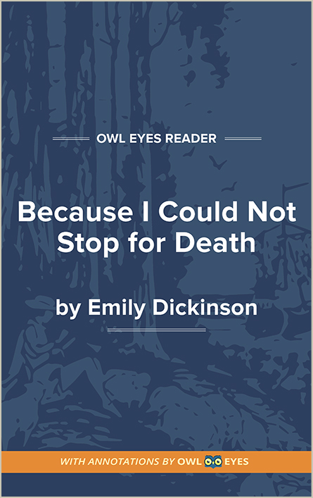 Because I Could Not Stop for Death Cover Image