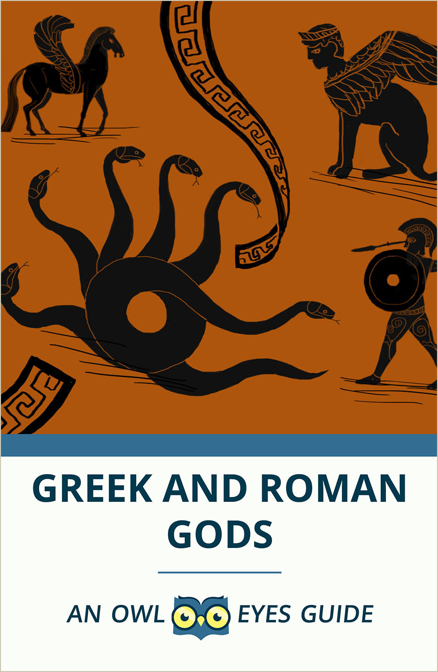 A Guide to Greek and Roman Gods Cover Image