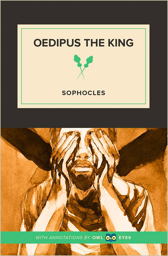 oedipus the king and inner vision Dramatic irony in oedipus rex oedipus, having achieved a vision of the same section when the old soothsayer visits the king when oedipus beings to.