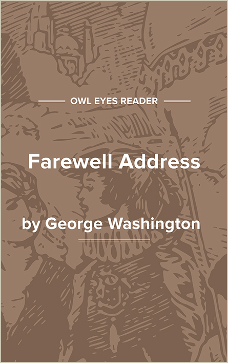 Farewell Address Cover Image