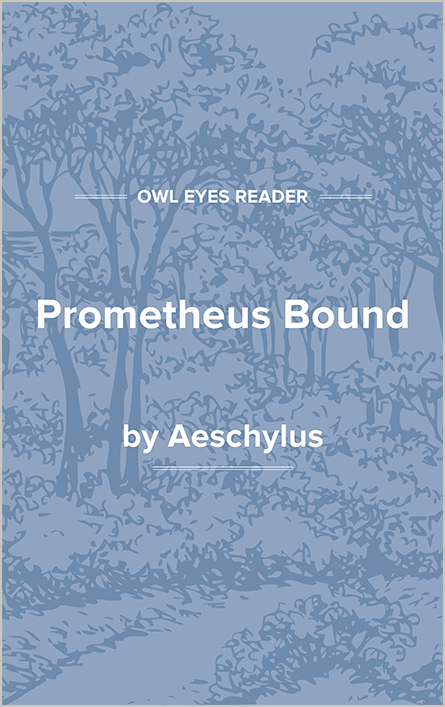 Prometheus Bound Cover Image