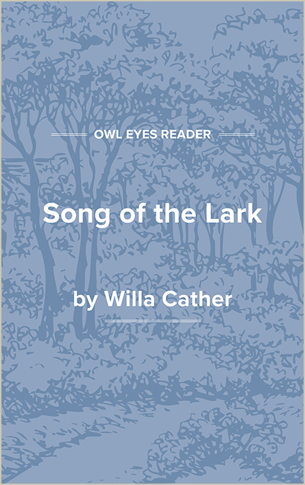 Song of the Lark Cover Image