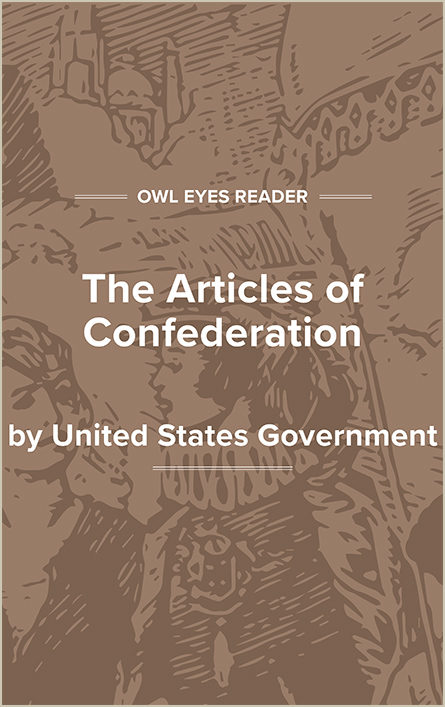 The Articles of Confederation Cover Image