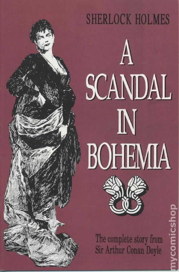 A Scandal in Bohemia Cover Image