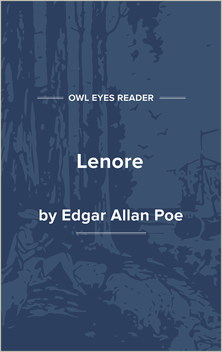 Lenore Cover Image