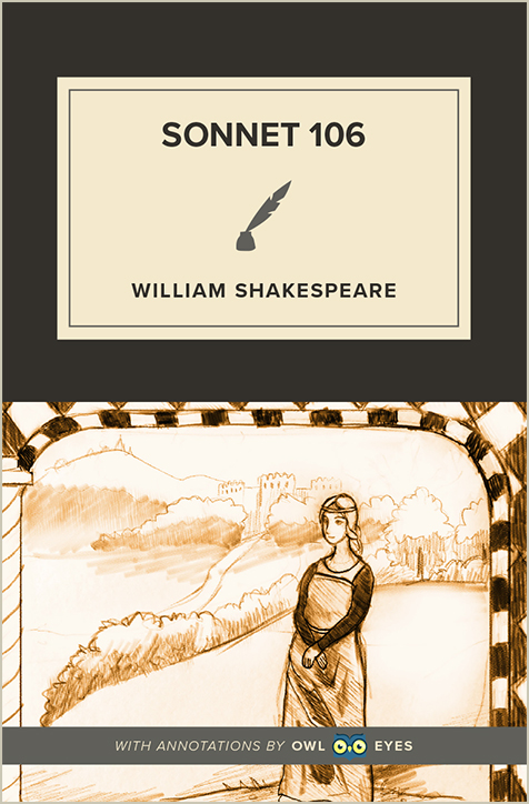 Sonnet 106 Cover Image