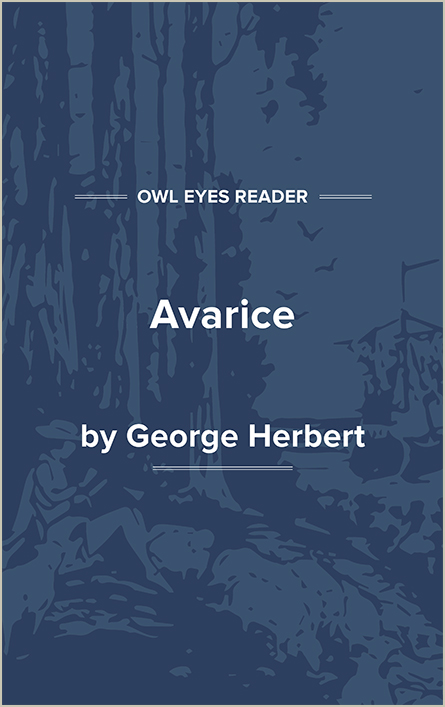 Avarice Cover Image