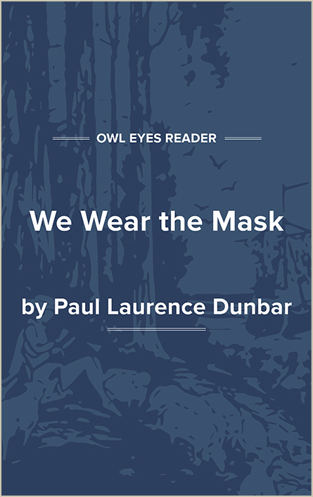 We Wear the Mask Cover Image