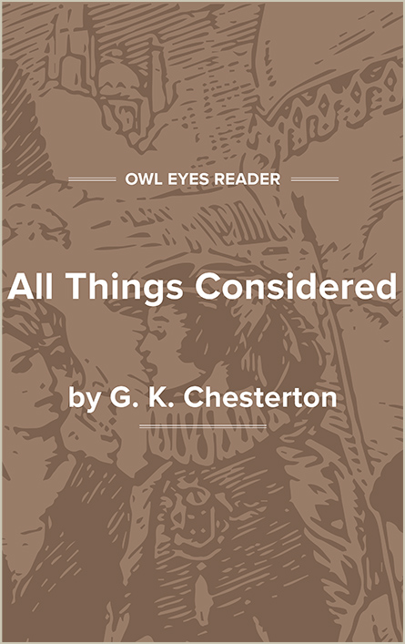 All Things Considered Cover Image