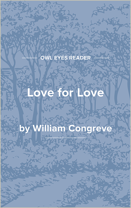 Love for Love Cover Image