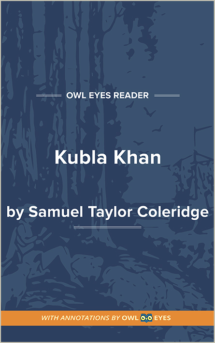 Kubla Khan Cover Image