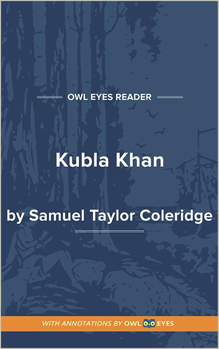 Kubla Khan Cover Image