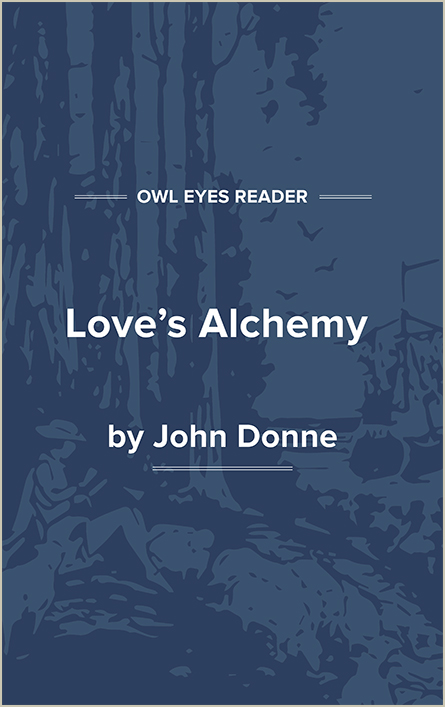 Love's Alchemy Cover Image