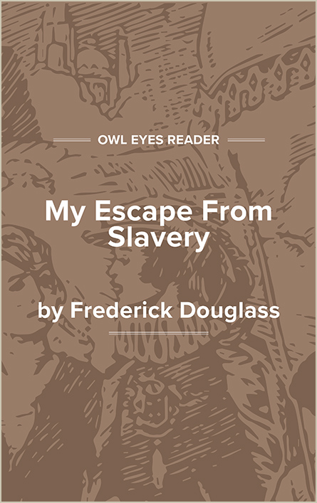 My Escape From Slavery Cover Image