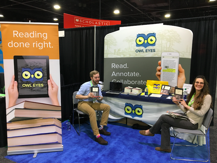 Team Owl Eyes at NCTE 2016