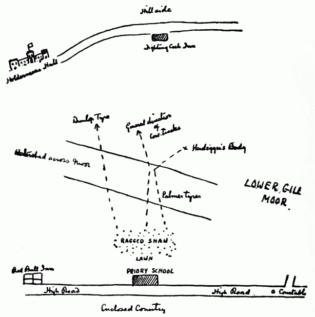 Holmes Map of School