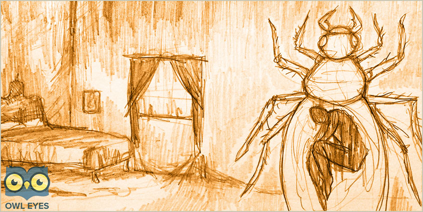 """an analysis of gregor samsas sacrifice from the metamorphosis by franz kafka Franz kafka uses his short story, """"the metamorphosis"""", to portray the isolation associated with alienation from society, displayed by his character gregor samsa."""